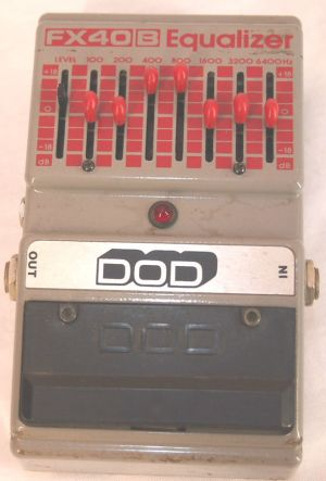 Dod FX40B Graphic EQ Used